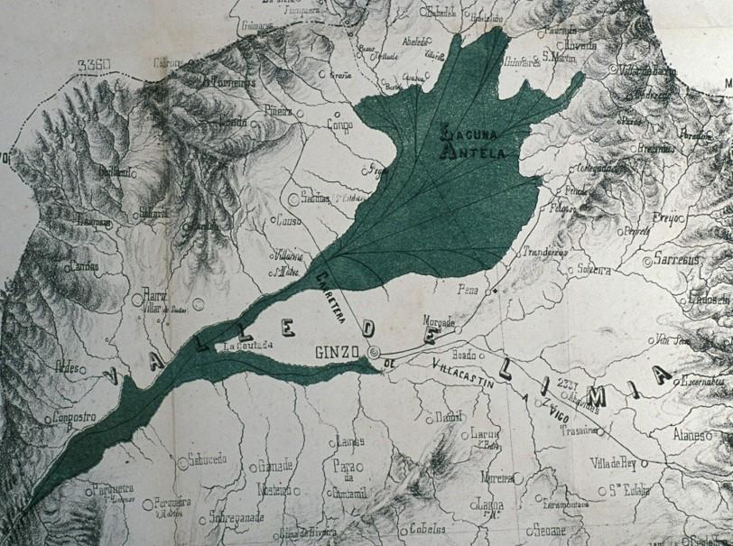 Lagoa de Antela segundo Íscar e os irmáns Mugártegui