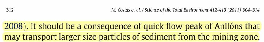 Páxina 312 do artigo de Costas e colaboradores (2011).