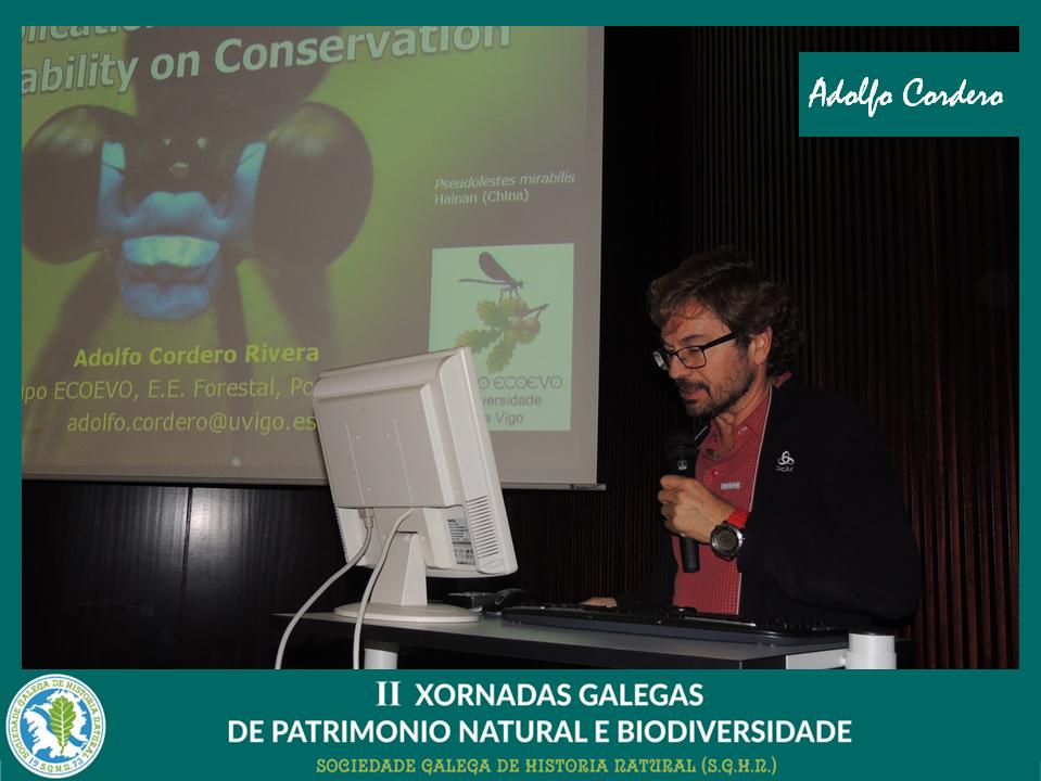 Conferencia de Adolfo Cordero sobre etodiversidade
