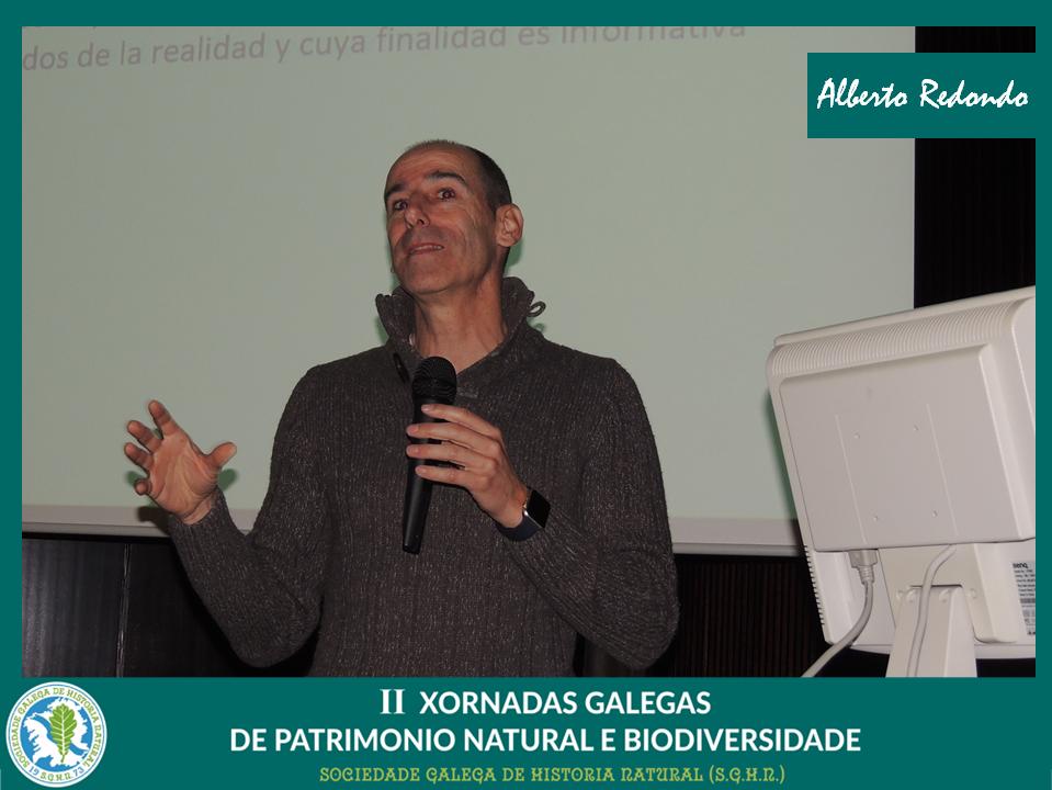 Conferencia de Alberto Redondo sobre comunicación da biodiversidade