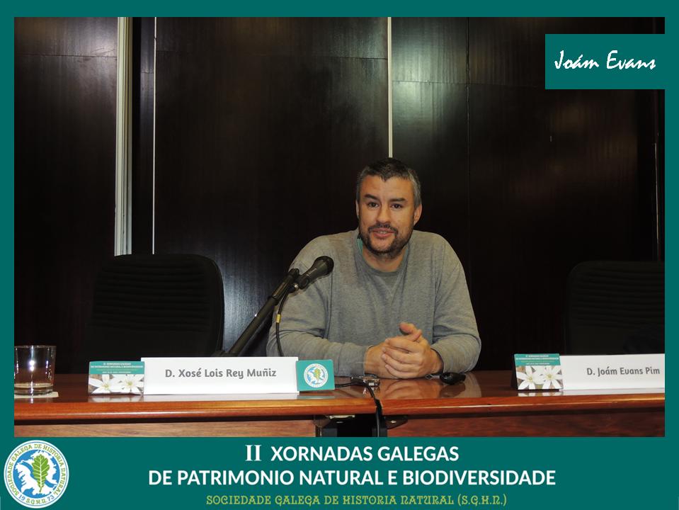 Conferencia de Joam Evams sobre ICCAs