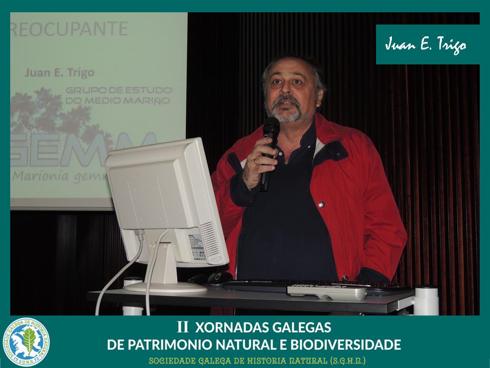 Conferencia de Juan Trigo sobre moluscos invasores