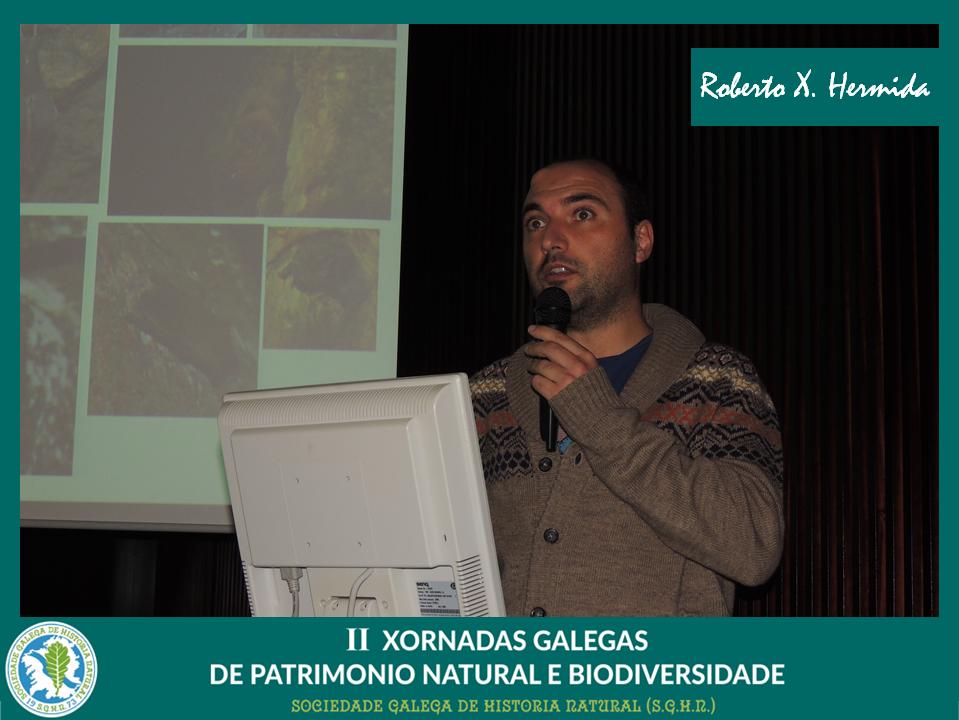 Conferencia sobre morcegos de Roberto Hermida