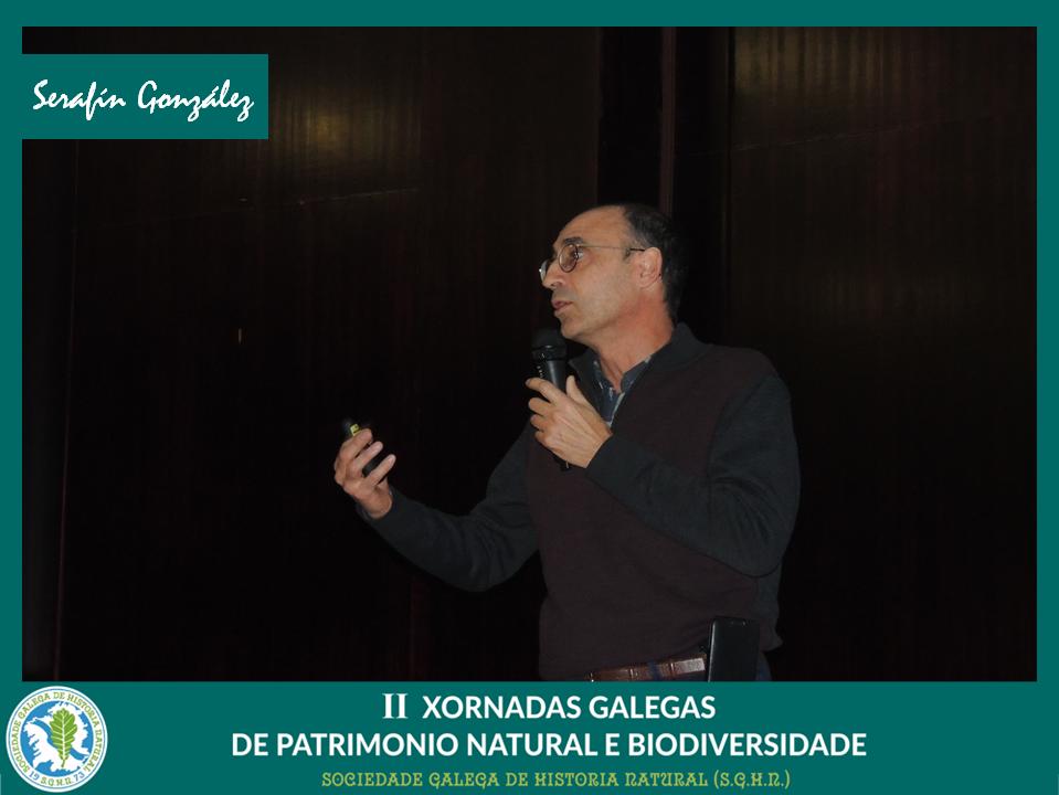 Conferencia de Serafín González sobre plans de conservación de especies ameazadas