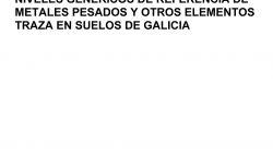 Niveis xenéricos solos Galicia