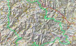 Mapa PN do Courel e Enciña da Lastra proposto por SGHN