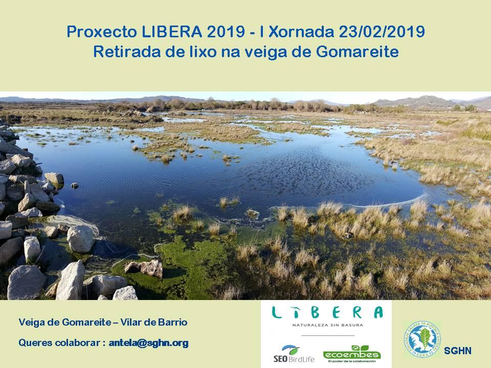 Proxecto Libera 2019 na Veiga de Gomareite